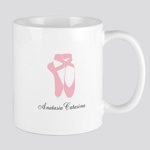 Team Pointe Ballet Pink Personalize Mug